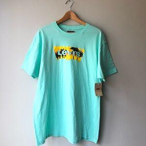 Levi's Shirts - Men's Levi's Logo Mint Short Sleeve Tee, NWT
